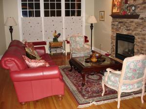 A nappali, ahol összejön a család